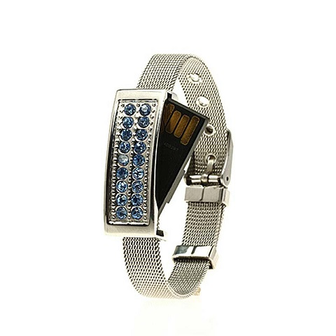 Disk On Ring Bracelet